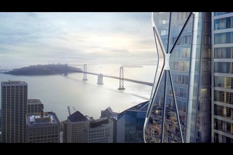 Foster + Partners and Heller Manus, San Francisco Oceanwide Centre